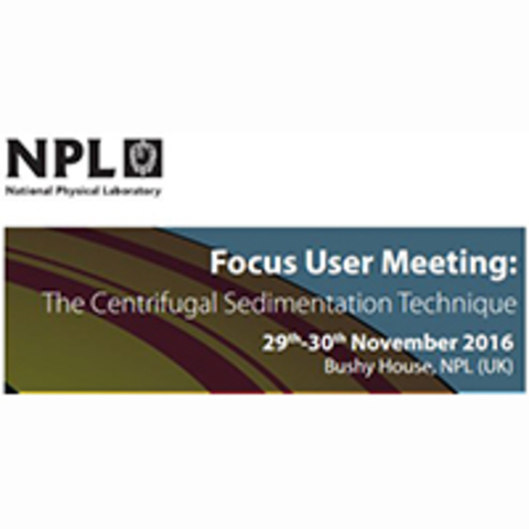 Focus User Meeting: The Differential Centrifugal Sedimentation Technique